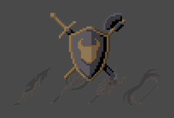 Underworld Weapons And Armor (Pixel-Art)