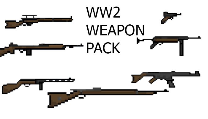 WW2 weapon pack