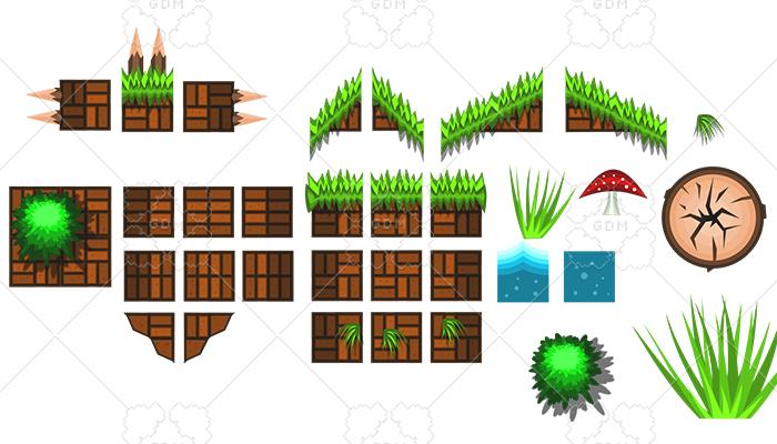 Nature tile set