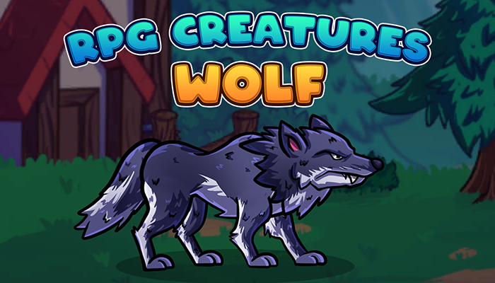 RPG Creatures – Wolf