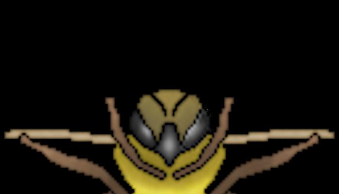 Pixelart Bee