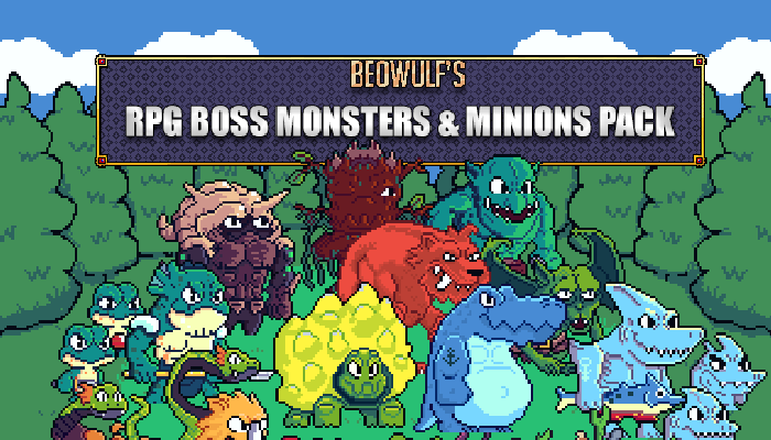 RPG Monsters & Minions HUGE Pack
