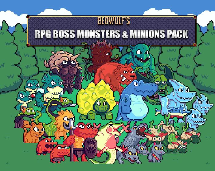 RPG Monsters & Minions HUGE Pack