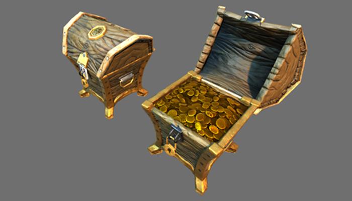 Stylized Treasure Chest