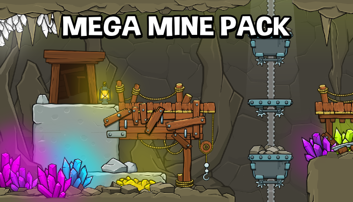 Mega mine creation pack
