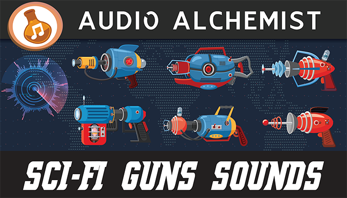Sci-Fi Guns Sounds