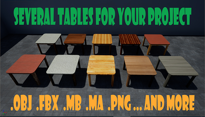 Dining Tables – Varied