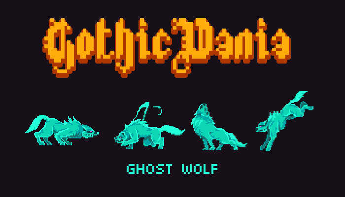Gothicvania Ghost Wolf Pack
