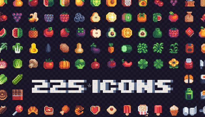 250, 16-Bit Icons