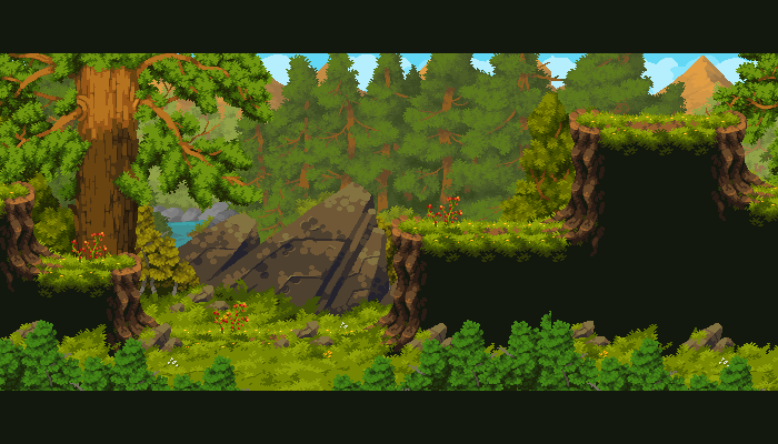 Taiga Forest Assets Pack