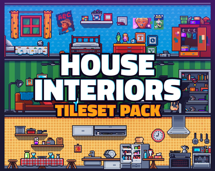 House Interiors Tileset Pack