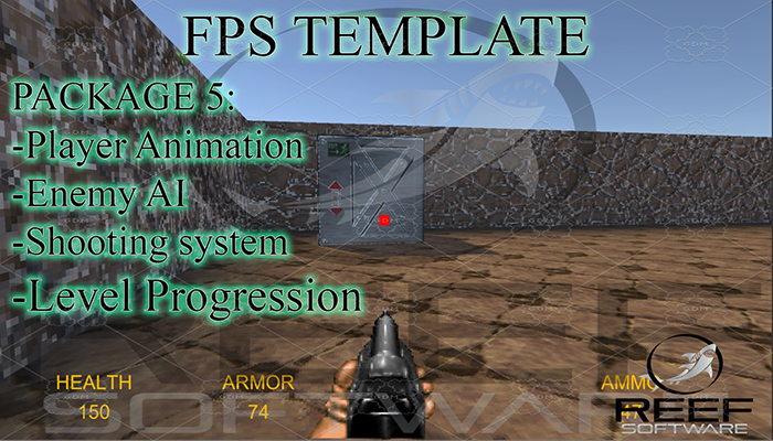 Classic FPS Template Package 5: Level Progression