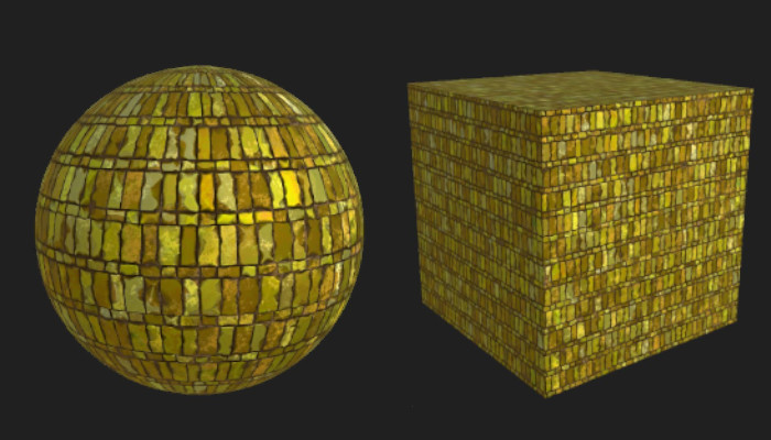 Worn Gold Brick