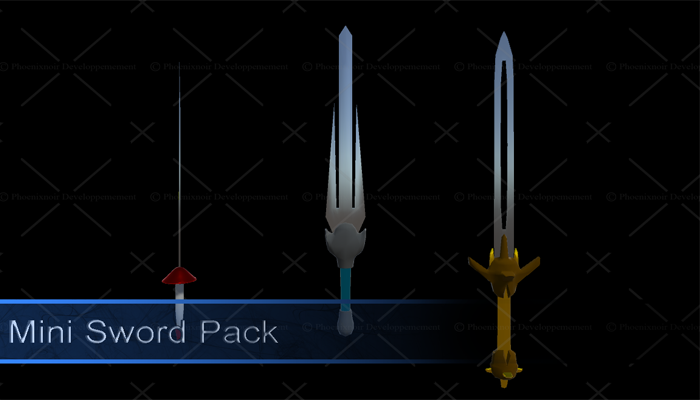 Mini Sword Pack