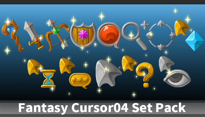 Fantasy Cursor04 Set Pack