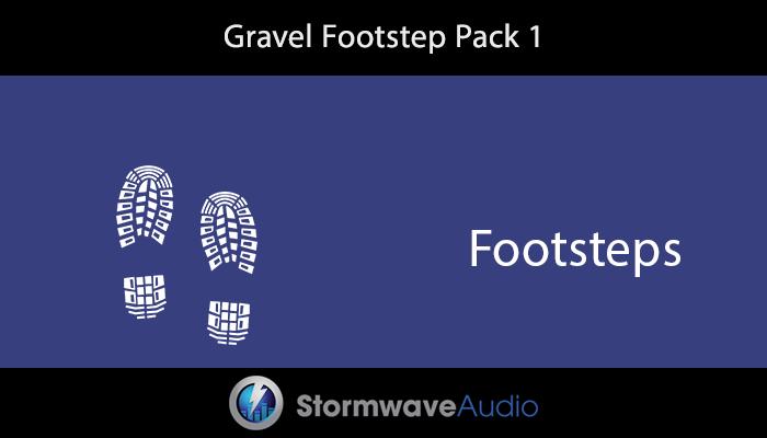 Gravel Footstep Pack 1