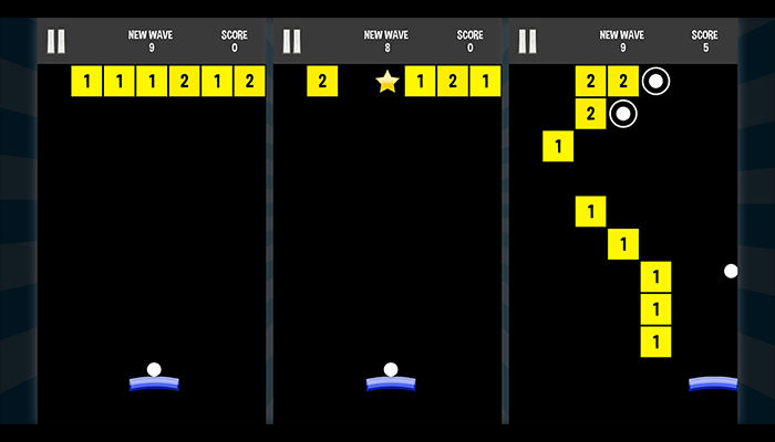 Infinite brick breaker arkanoid : endless balls and blocks crushing – complete project – ready for release
