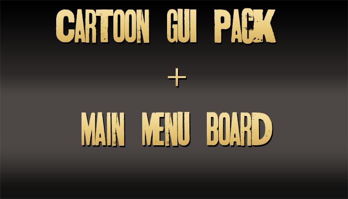 Cartoon GUI Pack 2.3