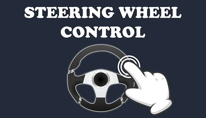 Virtual steering wheel controller – mobile ready simple input touch control system