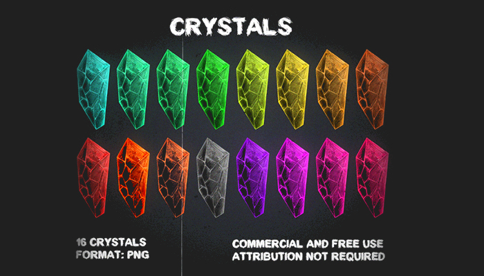 Magic Crystals [Pack №2]