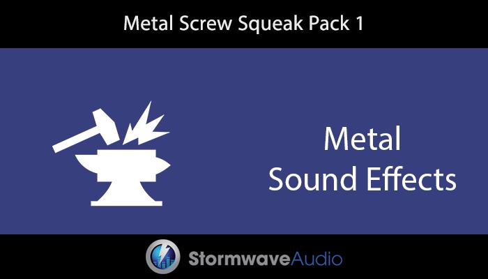 Metal Screw Squeak Pack