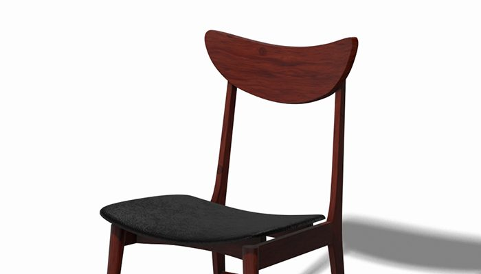 Scandinavian Design Chair 70 – Photoscanned PBR