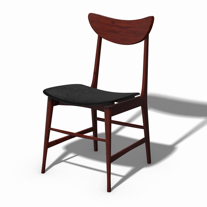 Scandinavian Design Chair 70 – Photoscanned PBR
