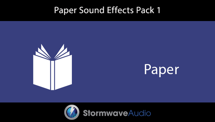 Paper SFX Pack 1
