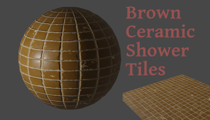 Brown Shower Tiles