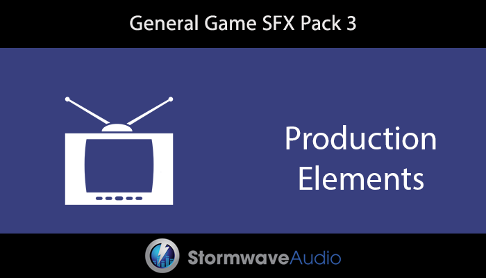 General Game SFX Pack 3