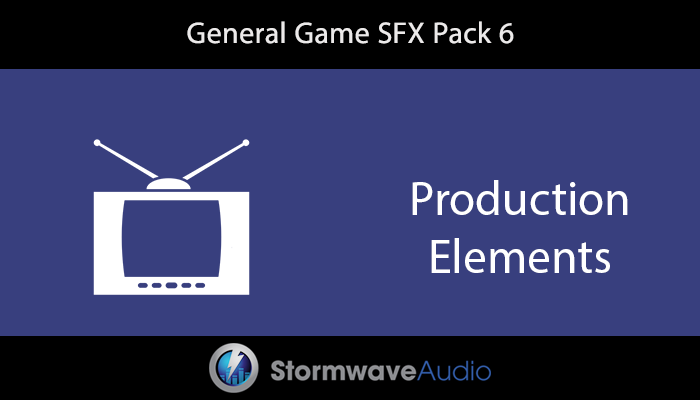 General Game SFX Pack 6