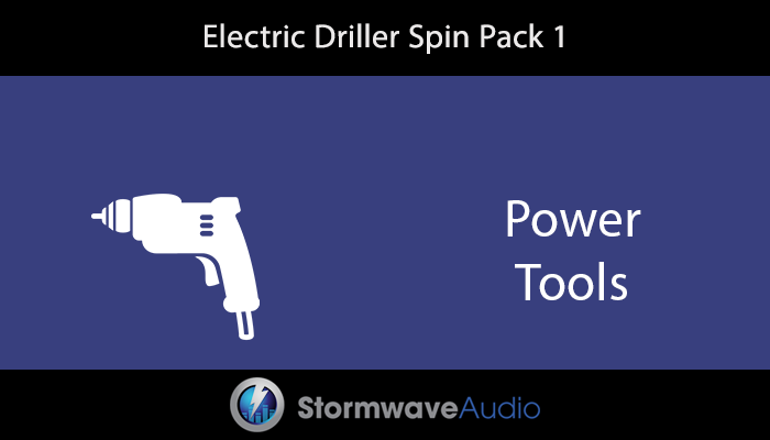 Electric Driller Spin Pack 1
