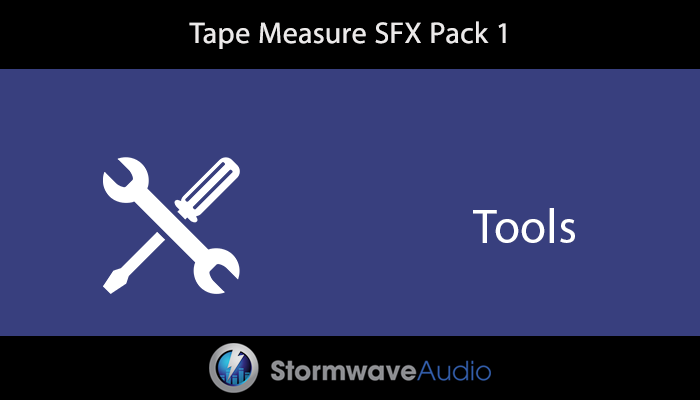 Tape Measure SFX Pack 1