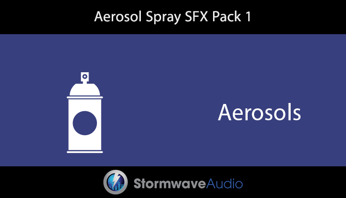 Aerosol Spray SFX Pack 1