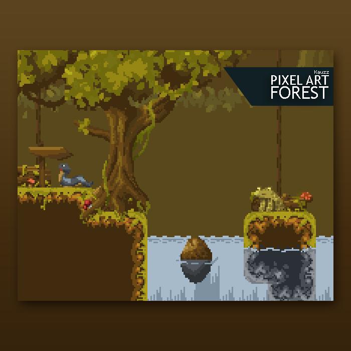 Kauzz Pixel Forest
