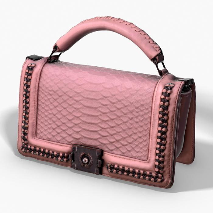 Pink Pochette – 3D Photoscanned PBR