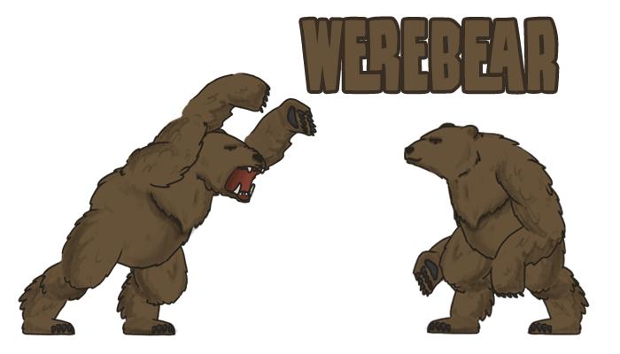 Werebear(Werewolf bear, Bjorn)