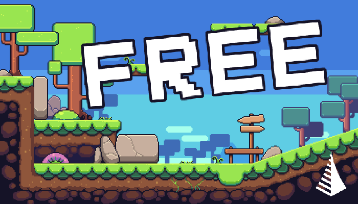 Nature pixel art base assets FREE