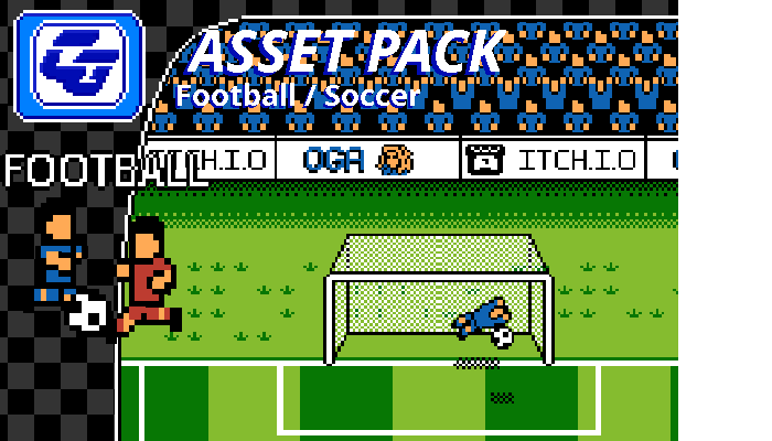 Asset Pack 'Football / Soccer' NES
