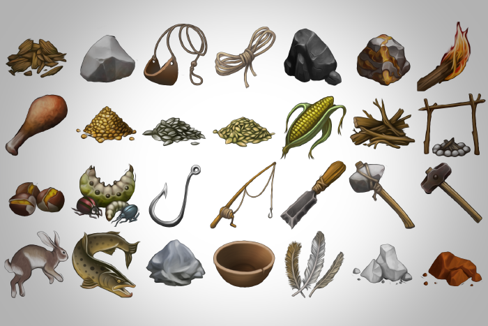 Prehistoric Icons Pack – 50 icons in 512*512pixels