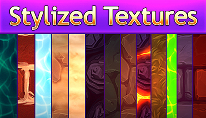 Stylized Handpainted Texture Starter Pack
