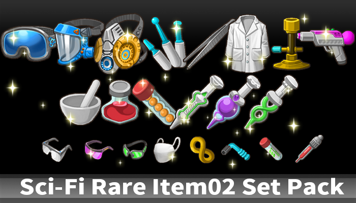 Sci-Fi Rare Item02 Set Pack