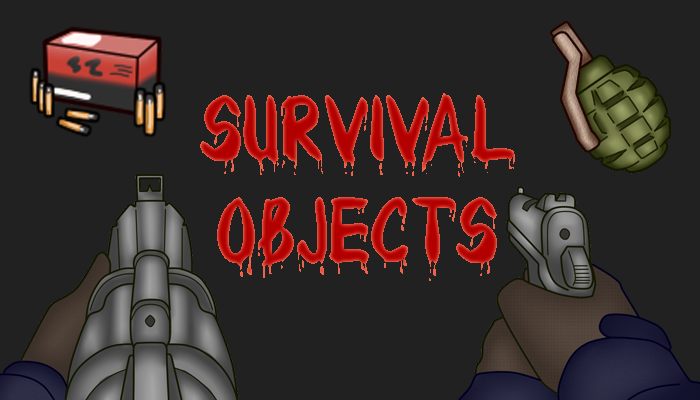 2D First-Person Survival Objects