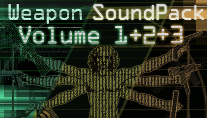 Weapon Sound Pack – Volume 1 + 2 + 3