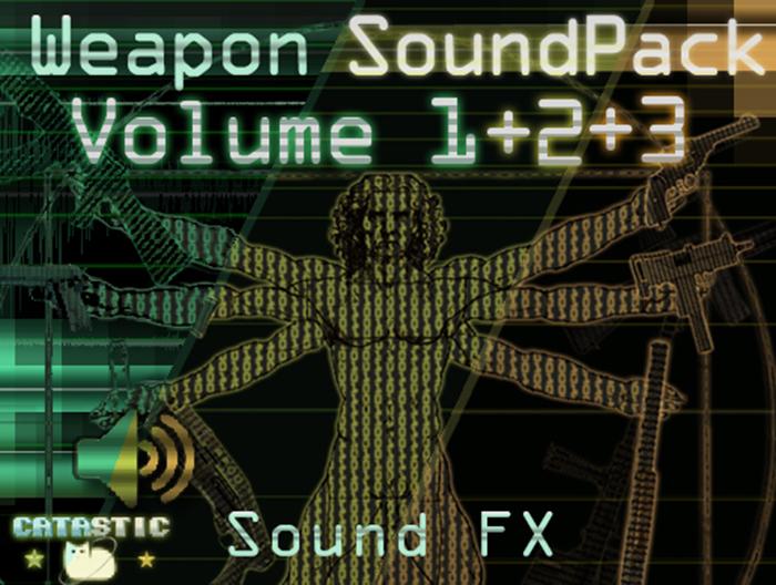 Weapon Sound Pack – Volume 1 + 2 + 3