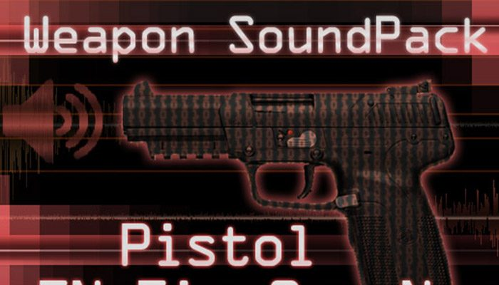 Weapon Sound Pack – Pistol: FiveSeveN