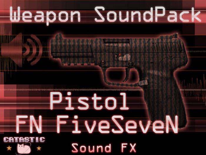 Weapon Sound Pack – Pistol: FiveSeveN