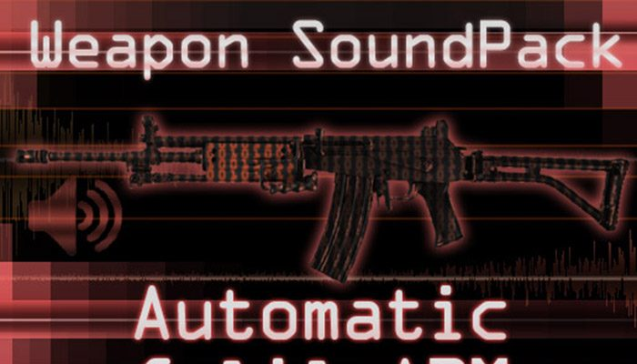 Weapon Sound Pack – Automatic Rifle: Galil
