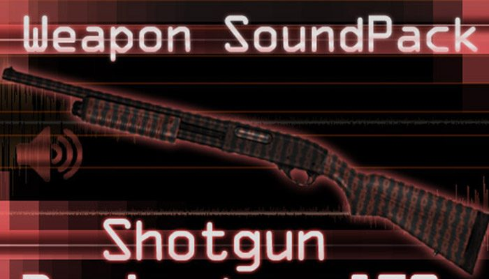 Weapon Sound Pack – Shotgun: Remington 870