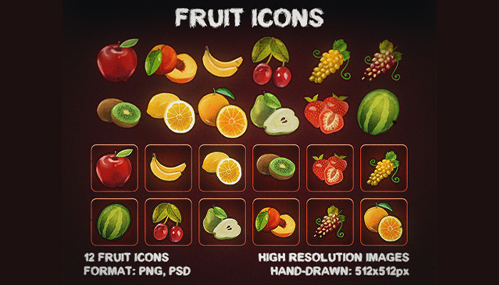 Fruit Icons Resource [Pack]